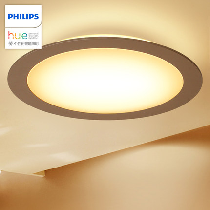 Philips  đèn ốp trần Philips Hue Đèn trần Đèn trần Đèn phòng khách Đèn LED đơn giản Đèn trần thông m