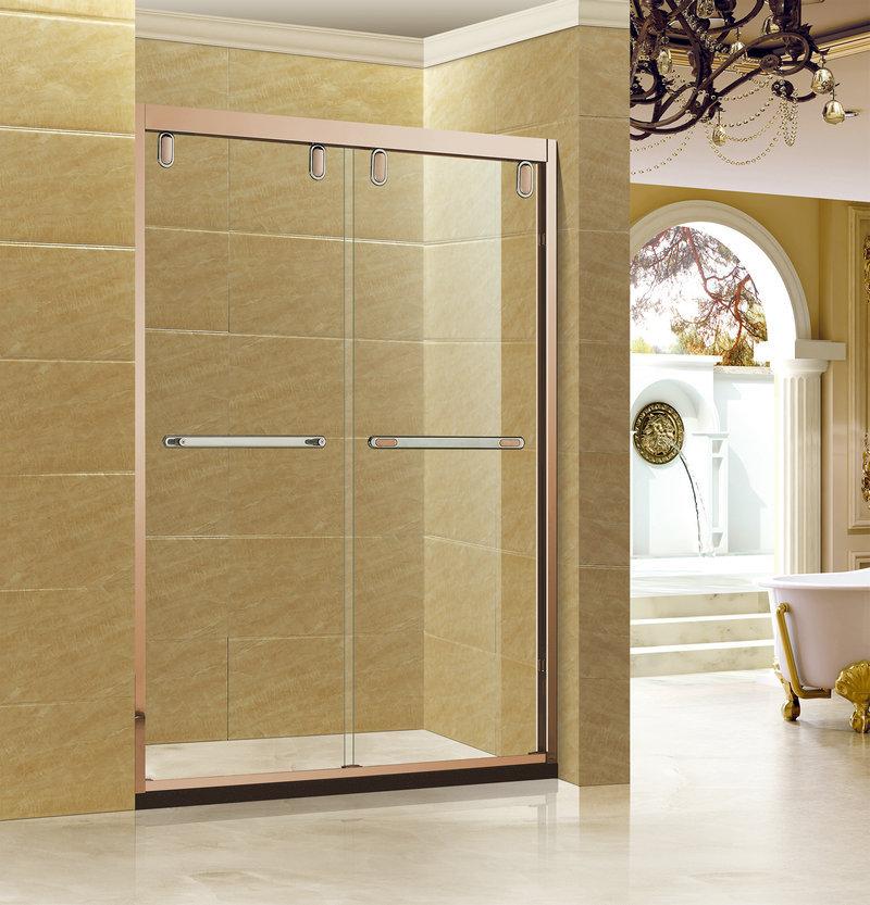 Bồn đứng tắm Nhà máy trực tiếp khách sạn cải thiện nhà tắm phòng tắm inox 304 phòng tắm vòi sen trượ