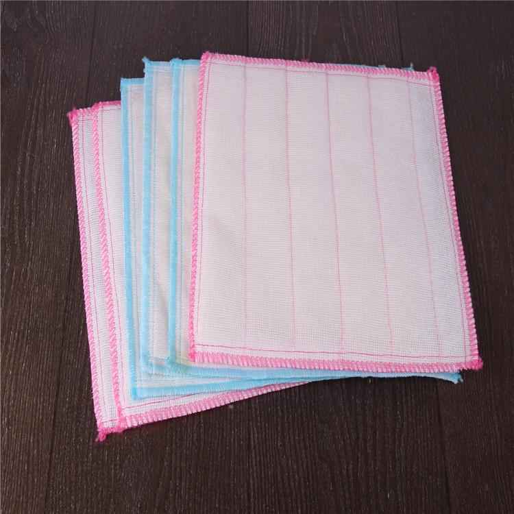 WANCEN Khăn rửa chén Túi kẹp tóc 5 lớp cộng với bông 8 lớp đầy đủ khăn lau bằng vải không thấm dầu K