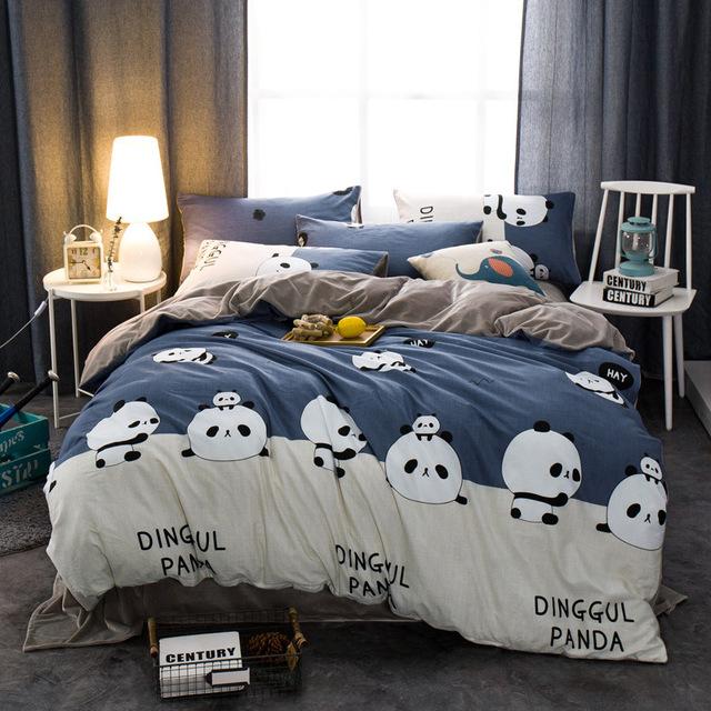 NINGHAO Bộ drap giường Nhà máy cắt túi bán hàng trực tiếp cho bán hàng trực tuyến đặc biệt bán buôn