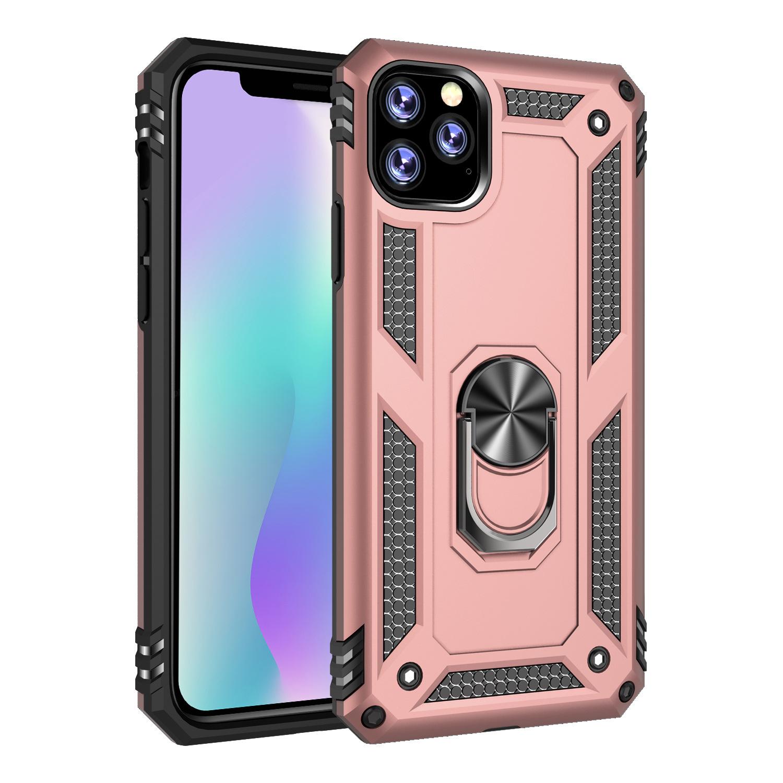 YISIMEI bao da điện thoại Thích hợp cho 2019 iphone 6.5 Trung sĩ giáp chống rơi với khung bảo vệ xe