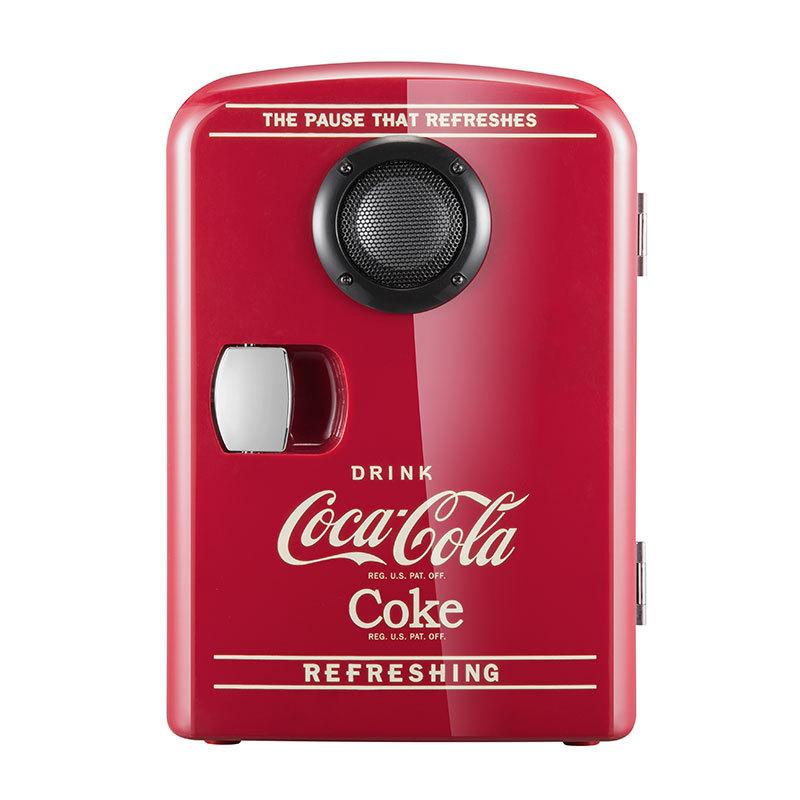 Coca-Cola Tủ lạnh Bluetooth loa xe hơi tủ lạnh nhà ký túc xá sinh viên mỹ phẩm lạnh và ấm hộp quà tặ