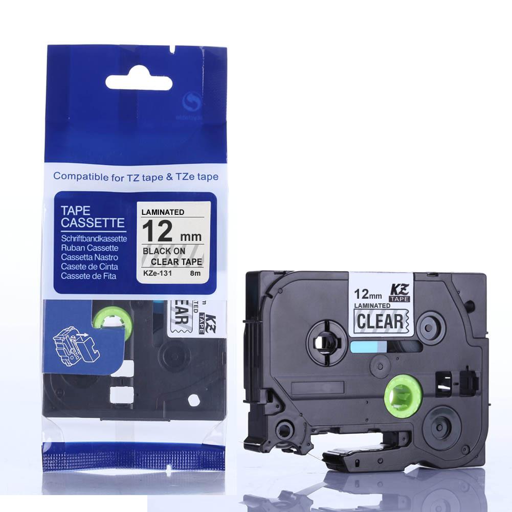 CIDY Ruy băng Tương thích với ruy-băng máy in nhãn Brother 18mm / 24MM cho nhãn TZ sê-ri 241/641/251