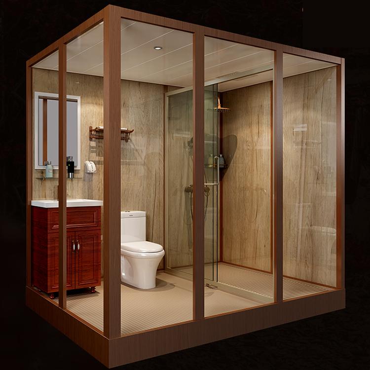 thuỷ tinh Phòng tắm SMC Phòng tắm Ô nhiễm phòng vệ sinh bồn, nhà vệ sinh hòa hợp với nhà vệ sinh.
