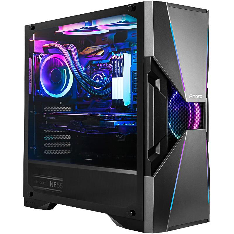 ANTAIKE Thùng CPU Antec Dark Series-Avengers XDA601 tòa tháp kính cường lực trung bình thông qua khu