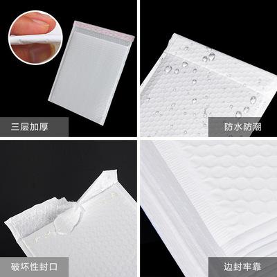 Túi xốp phong bì trắng dày túi chống nước cho chuyển phát nhanh