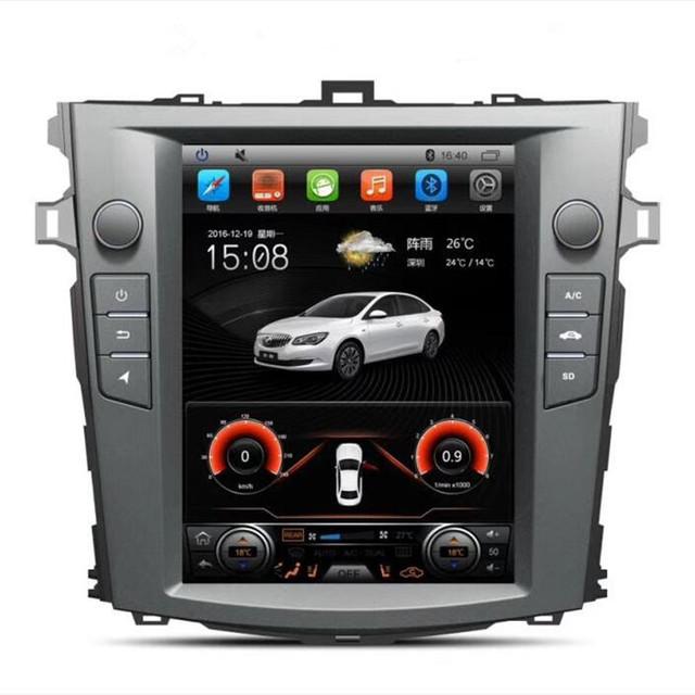 Cung cấp máy điều hòa cũ Corolla điều hướng thông minh Android tích hợp máy 10,4 inch màn hình dọc k