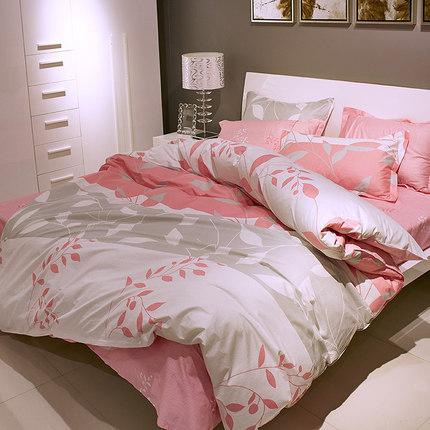 NANJIREN Bộ drap giường  Nam Cực bông bốn mảnh tấm bông chăn chăn ngủ ký túc xá ba mảnh giường đặt b