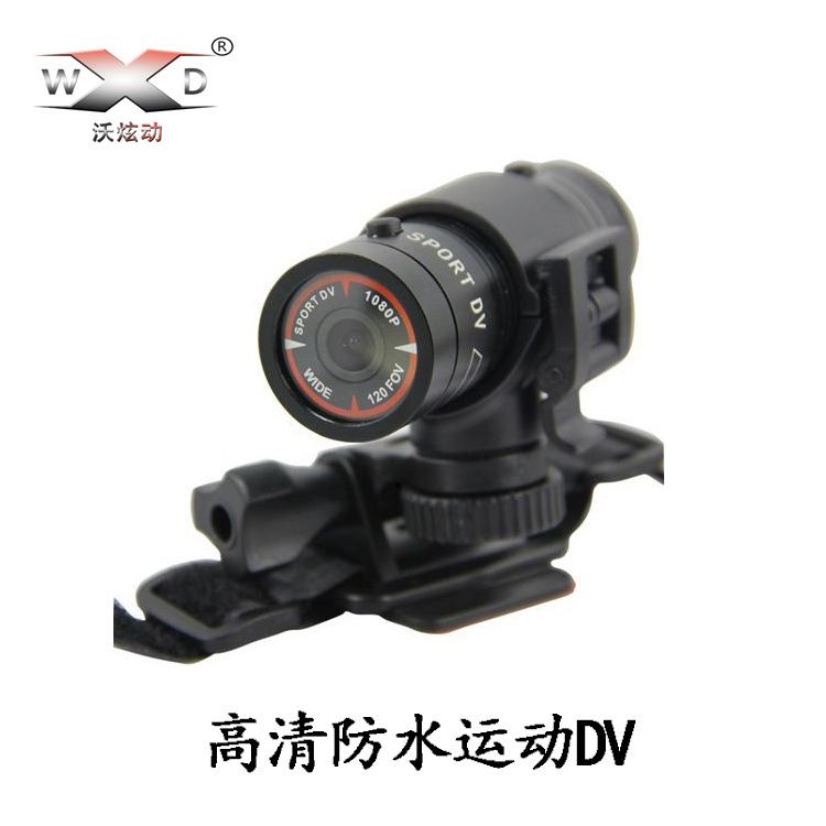 WOXUANDONG Máy ảnh thể thao F9 Thể thao chống nước DV HD 1080P Máy ảnh thể thao Camera Camera Núi cư
