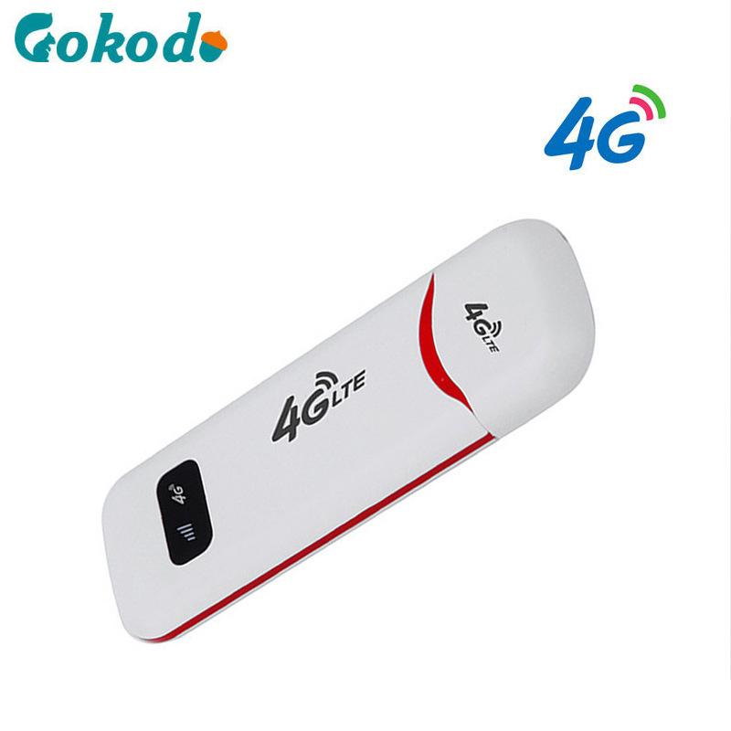 GUOKEDAO Card mạng 3G/4G Unicom Telecom 4g wifi di động không dây card internet 100M USB mini router