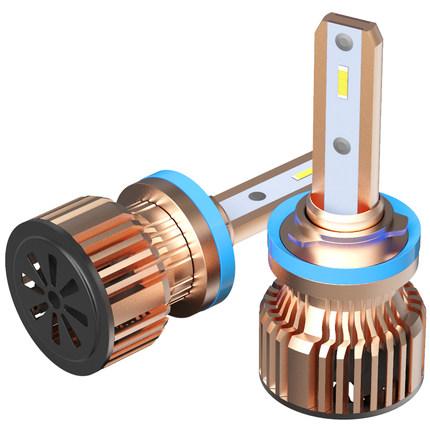 HILOLY đèn xe  Đèn pha led ô tô h7h1h4 xa và gần một đèn led 9012 sửa đổi 55WH11 xa và gần bóng đèn
