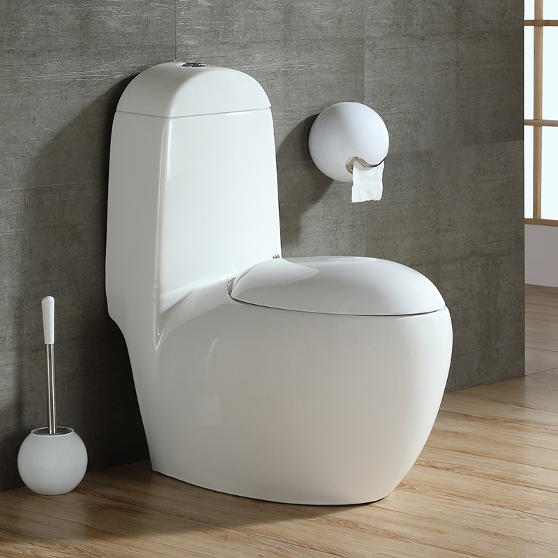 YASE - Bồn cầu Nhà vệ sinh hình quả trứng đơn lỗ tiết kiệm nước