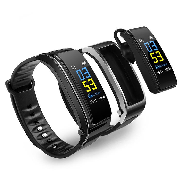 Y3plus Vòng đeo tay thông minh Bluetooth tích hợp máy đo nhịp tim