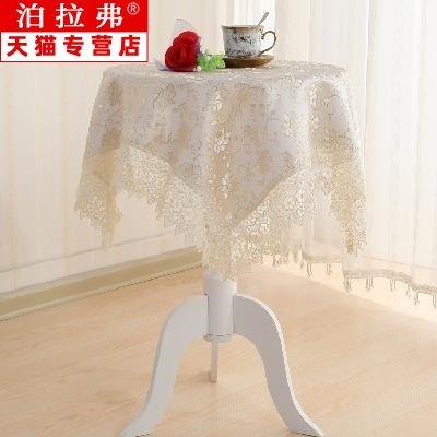 yimu Bàn trà  Châu Âu nhỏ bàn tròn khăn trải bàn vải tròn hộ gia đình ren ren bàn cà phê phòng khách