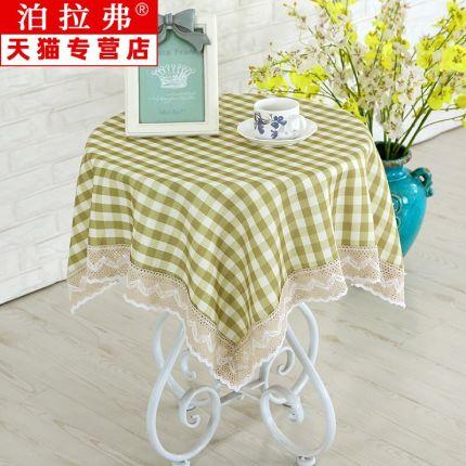 yimu Bàn trà  Khăn trải bàn, bàn cà phê, vải tròn nhỏ, khăn trải bàn tròn, khăn trải bàn vuông, quán