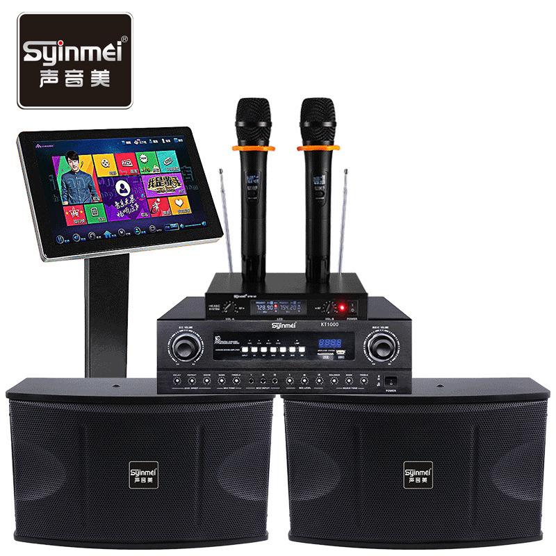 SYINMEI Cinema gia đình 10 inch ktv âm thanh gia đình đặt rạp hát tại nhà karaoke hát âm thanh thiết