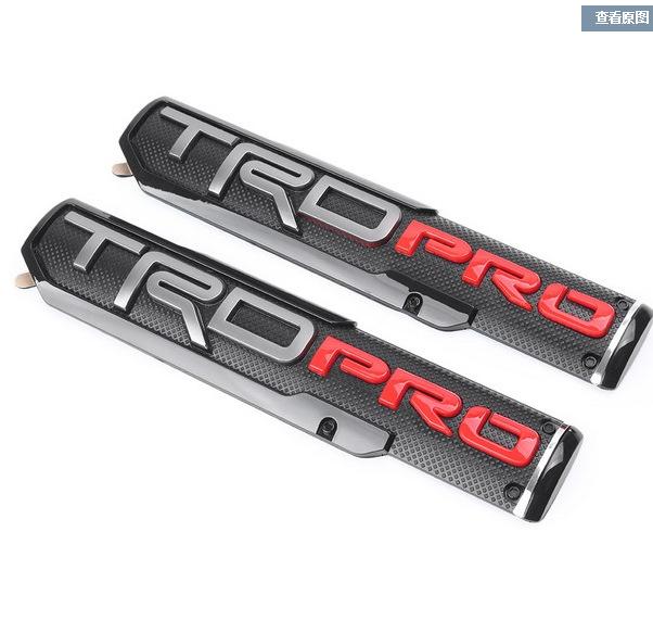 Đề can xe hơi Nhãn dán xe Toyota Tantu TRD PRO Nhãn cửa Bắc Mỹ Toyota Tantu Sequoia nhãn xe ABS