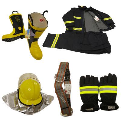 SUXING Trang phục chống cháy Dịch vụ chữa cháy được chứng nhận 3C phù hợp với 14 lính cứu hỏa quần á