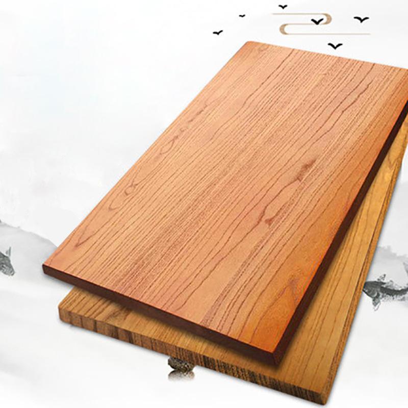 XINLINLONG Ván gỗ Nhà máy Cửa hàng South Elm Gỗ Trà Bàn Bàn Bàn Bàn Tùy chỉnh Tấm gỗ Nội thất gỗ tự
