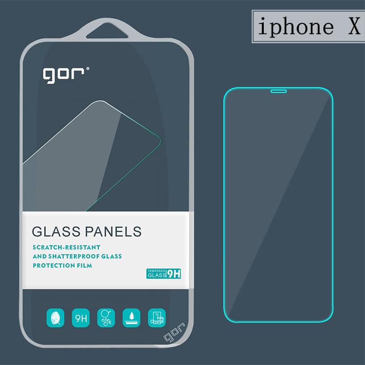 GOR Miếng dán cường lực cho iPhone X phim cường lực iphoneX Phim 10 kính bảo vệ điện thoại di động