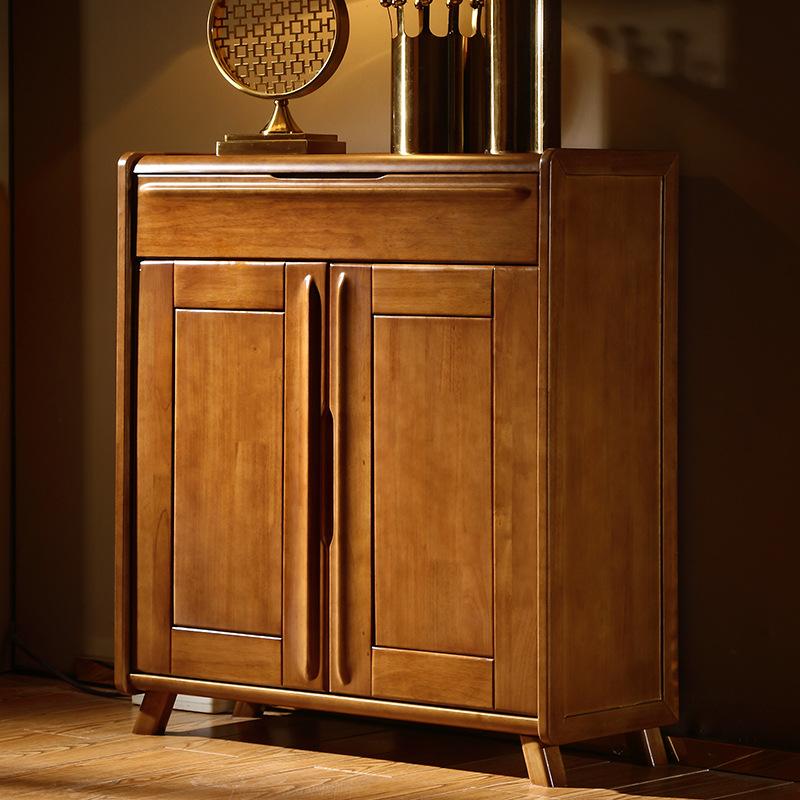 Tủ giày gỗ rắn nội thất phòng khách với ngăn kéo lưu trữ tủ .