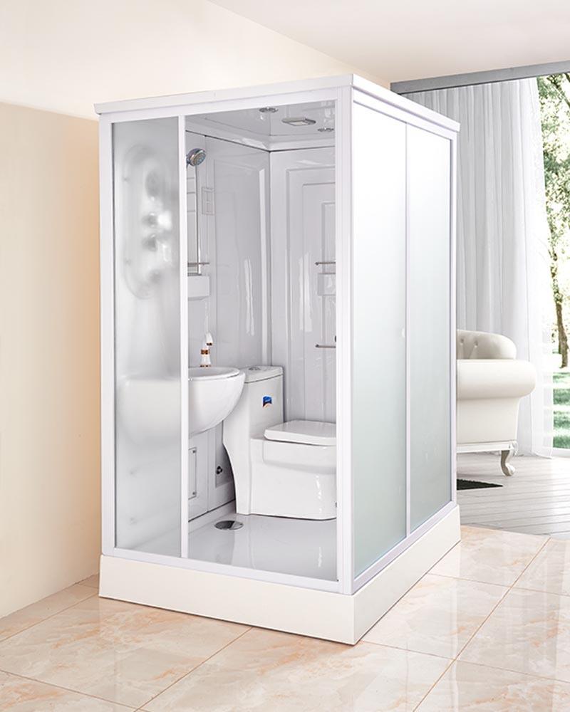 Bồn đứng tắm Phòng tắm tích hợp phòng tắm kính tích hợp vách ngăn phòng tắm tổng thể phòng tắm kính