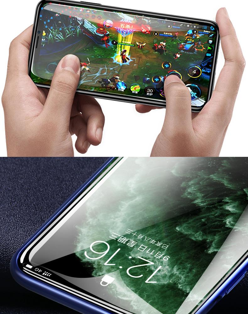 Miếng dán cường lực Baseus iPhone11ProMax toàn màn hình .