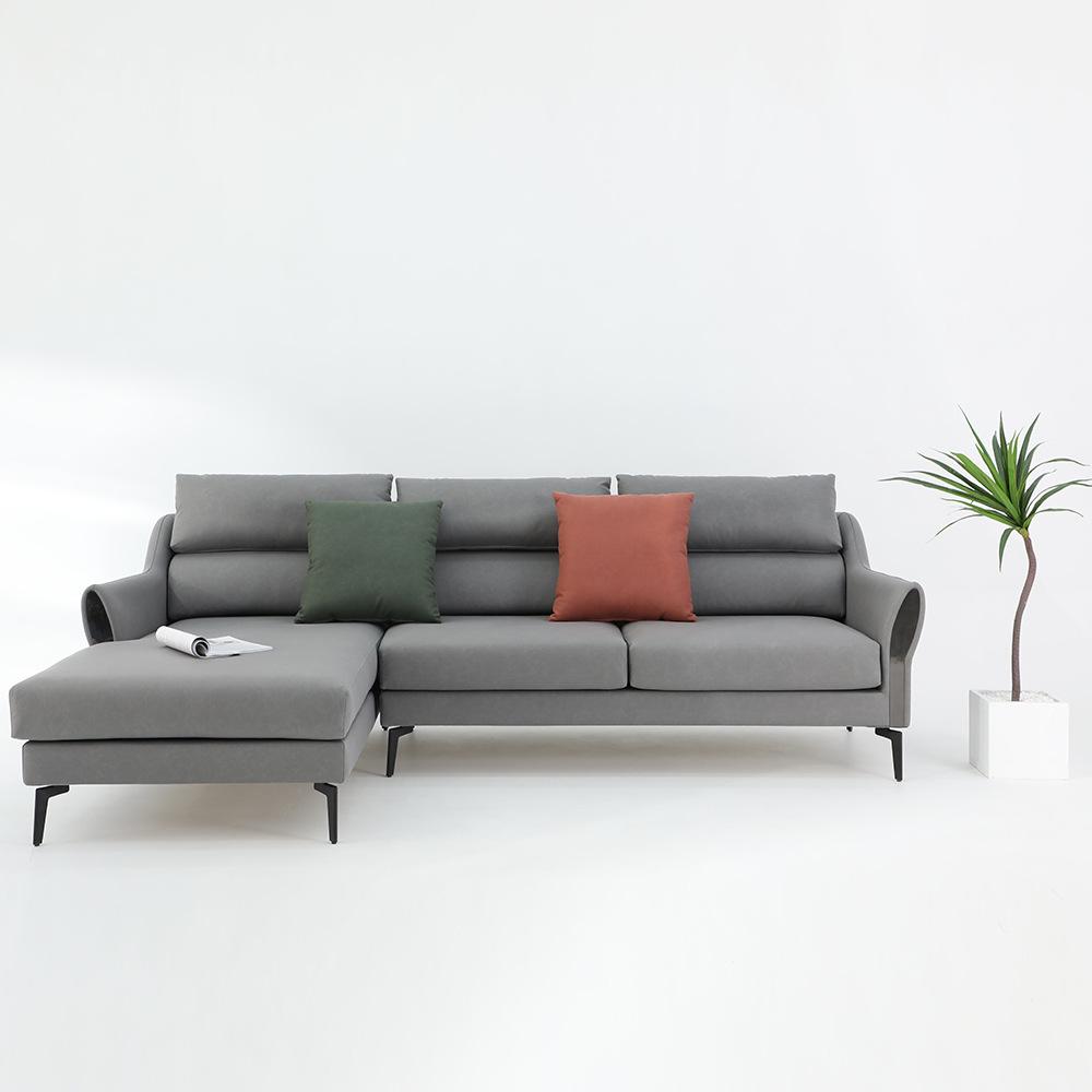 YIRAN Ghế Sofa Sofa vải Bắc Âu nội thất phòng khách căn hộ nhỏ đôi công nghệ vải hiện đại tối giản b