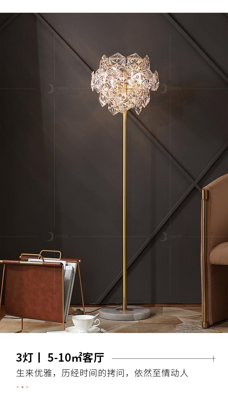 Đèn âm đất Đăng sáng tân đèn pha lê, phòng khách, phòng ngủ, bầu khí quyển đơn giản, nhân cách sáng