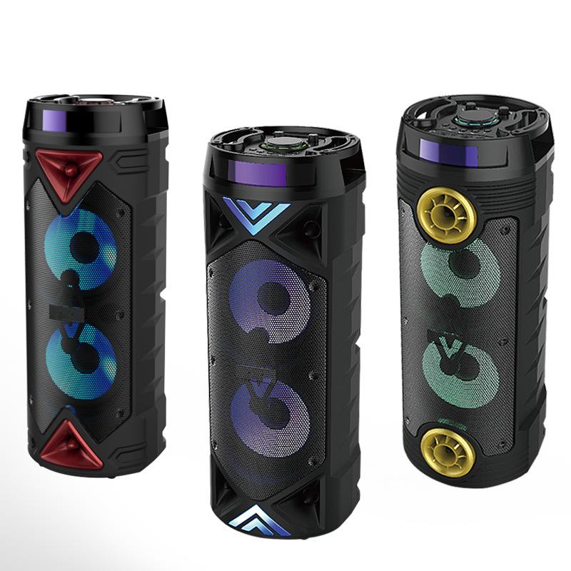 Infocore Thị trường âm h ưởng 2018 New Cannon Tube Bluetooth Audio Âm thanh loa siêu trầm Reverb côn