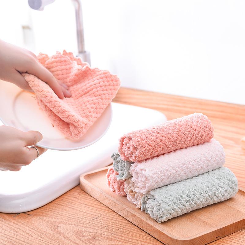 AFDS Khăn rửa chén Túi giúp, tăng khả năng chống dính cho bếp, làm ướt khăn rửa chén, khăn lau, khăn