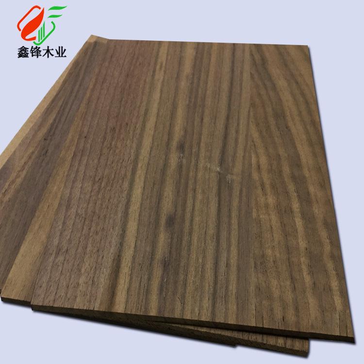 XINFENG Ván gỗ Bảng điều khiển gỗ óc chó đen Bảng điều khiển thẳng mỏng Chế biến gỗ óc chó đen 2.5 D