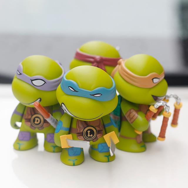 XIANGYU Thị trường đồ trang trí xe hơi Túi giúp 4 phiên bản Q của Ninja Rùa trang trí phụ kiện xe sá
