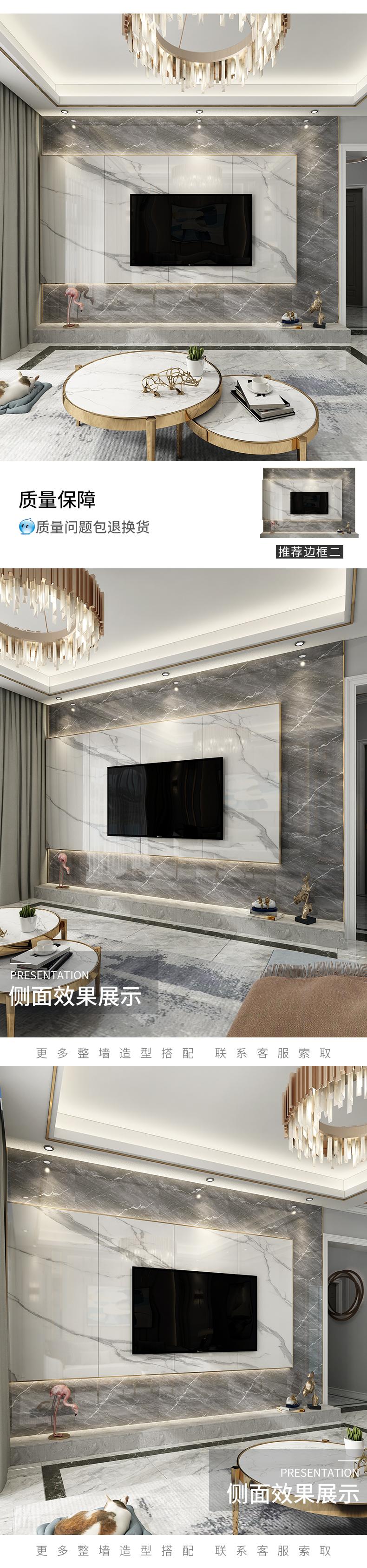 750'1500 Slate Marble truyền hình nền gốm Gạch Gạch men men men tráng lệ phim những bức tường ánh s
