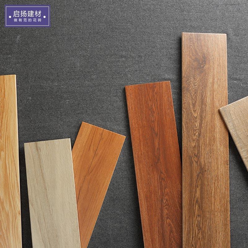 QIYANG Gạch men sứ Gạch lát sàn gỗ 150 * 800 gạch lát sàn gỗ nhà hàng phòng ngủ kỹ thuật gạch lát sà