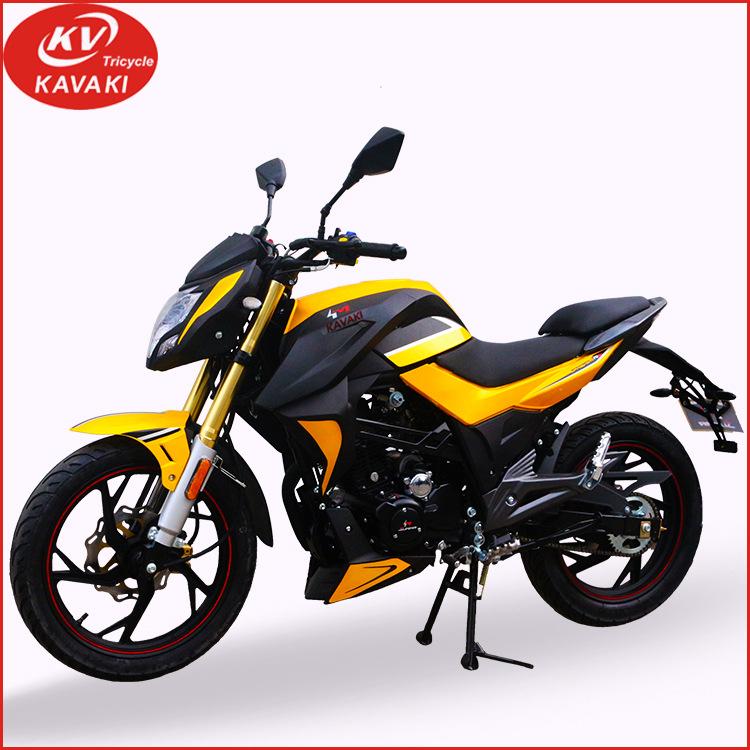 KAWAKI xe môtô / xe máy ngoại thương xuất khẩu 90km / h xăng dầu hai bánh xe máy chở khách người lớn