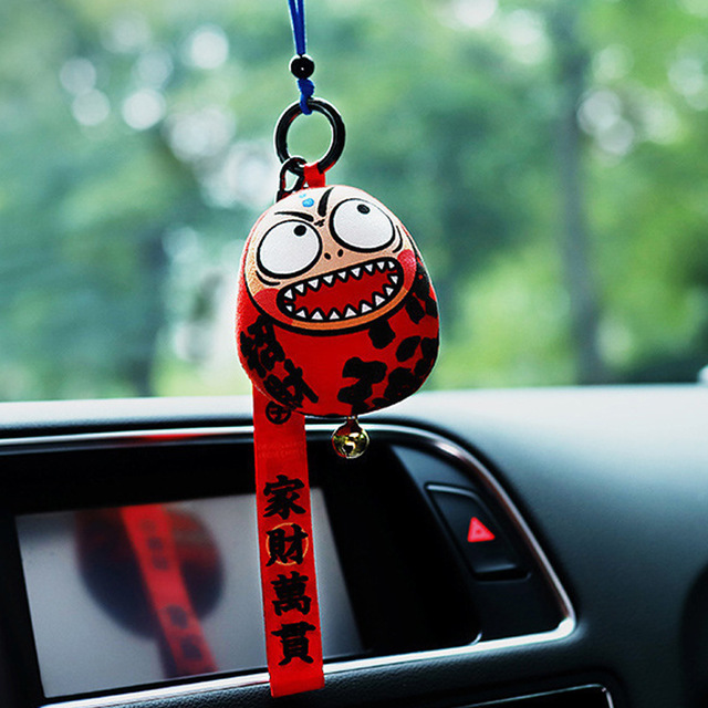 Đồ trang trí xe hơi : Túi thảo dược ban phước may mắn cho bạn .