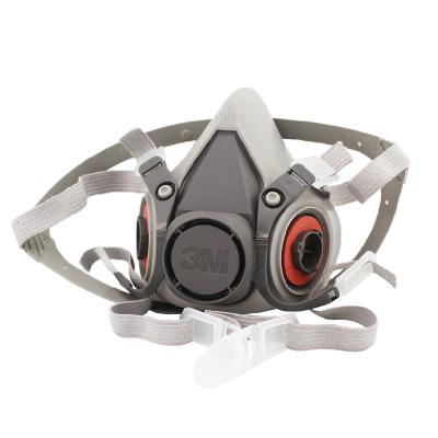 3M Khẩu trang bảo hộ Mặt nạ phòng độc khí 3M 6200 phun bụi phù hợp Mặt nạ bảo vệ chống bụi chống for