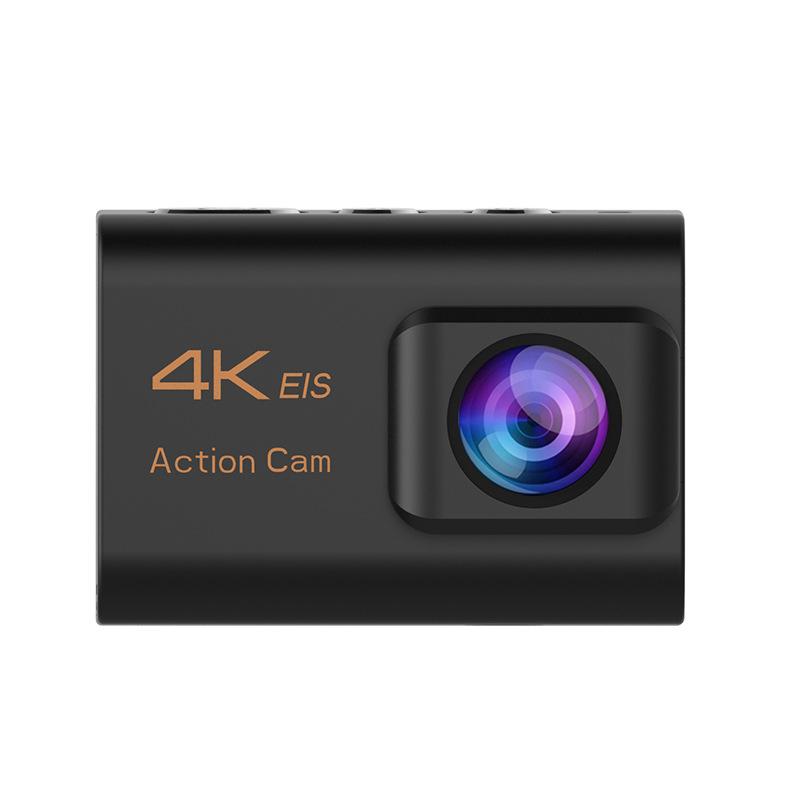 OEM Máy ảnh thể thao Camera kép chống nước 4K lúa mì chống rung ngoài trời EIS ba trục camera thông