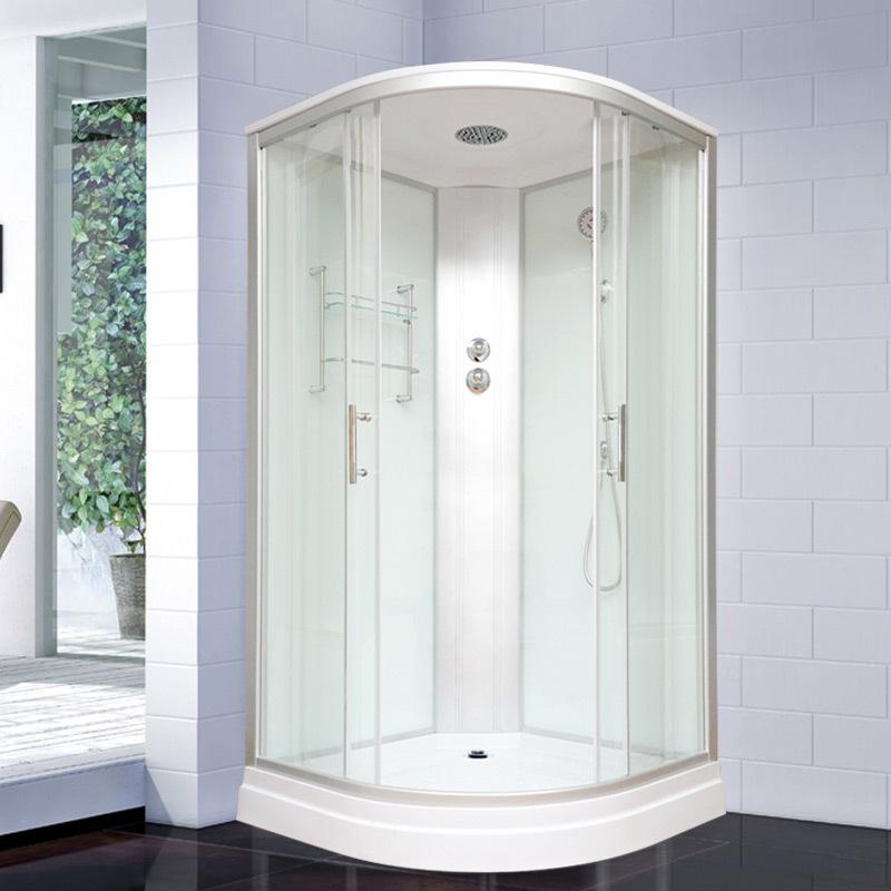 XINSHIJUE Bồn đứng tắm New Spyker arc hình quạt tích hợp phòng tắm hơi nhà tắm căn hộ nhỏ tắm mưa ph