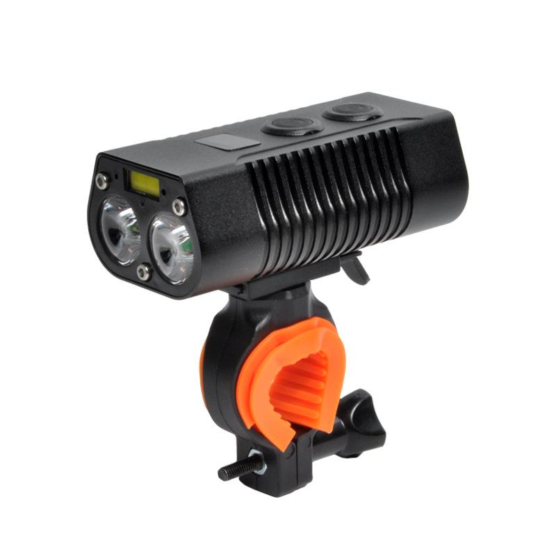 đèn xe Đèn cảnh báo sạc pin xuyên biên giới hiển thị mức đèn hậu pin xe đạp có thể được sử dụng làm