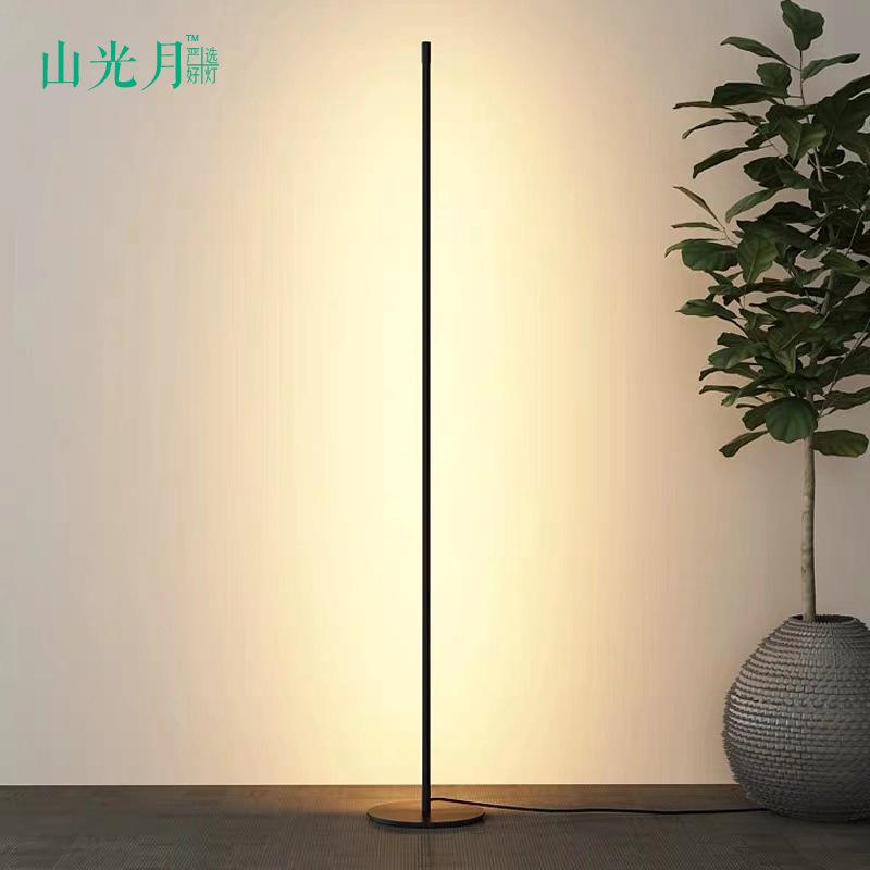 SHANYUEGUANG Đèn âm đất led sàn đèn nordic sáng tạo bài hiện đại tối giản cực ánh sáng phòng khách k