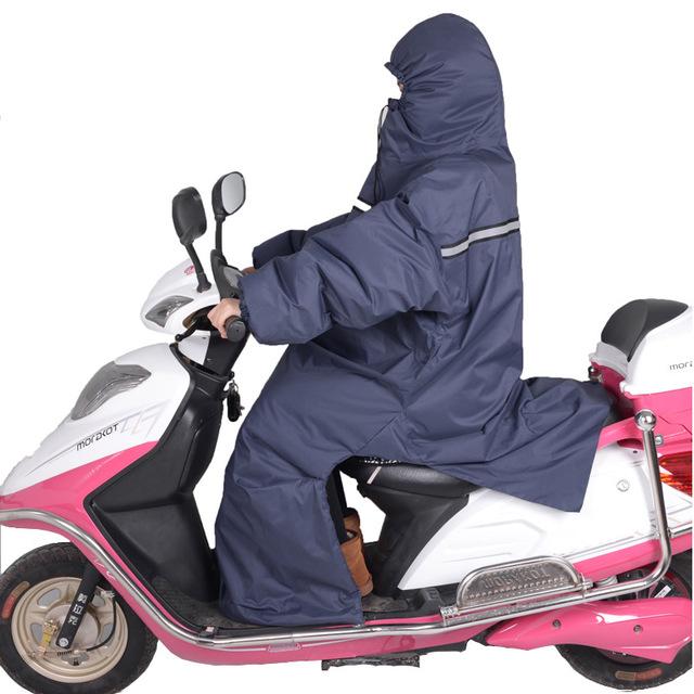 Tấm chắn gió Túi giúp kính chắn gió xe máy điện bằng ắc quy xe điện xe hơi mùa đông kính chắn gió xe