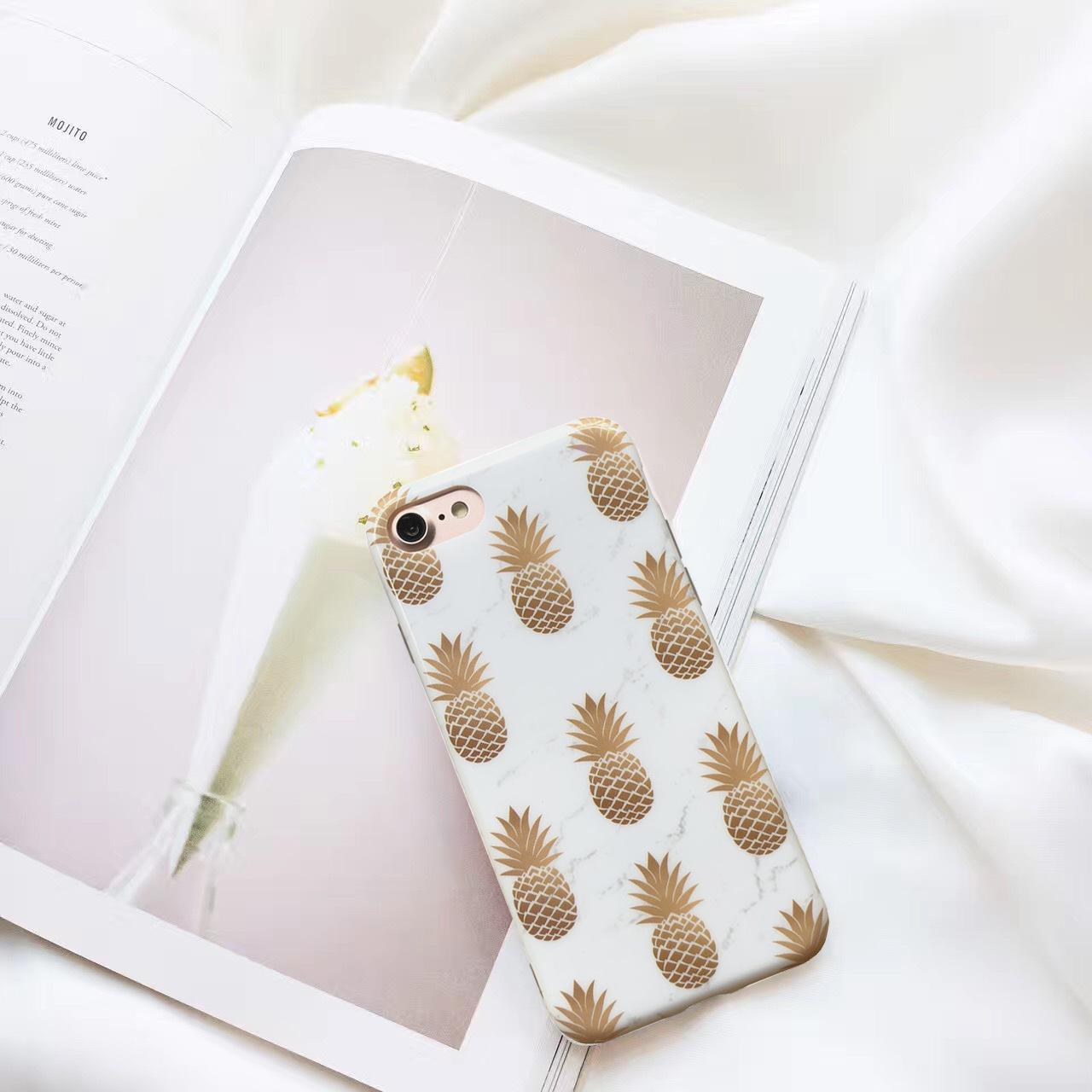 XINYUAN bao da điện thoại Vỏ điện thoại di động dứa sáng tạo cho Apple x xr vỏ bảo vệ điện thoại TPU