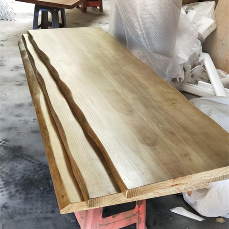 Ván gỗ Gỗ thông hình chữ nhật ván gỗ rắn kéo dài dày lên tùy chỉnh bàn ăn tự làm bảng máy tính bảng