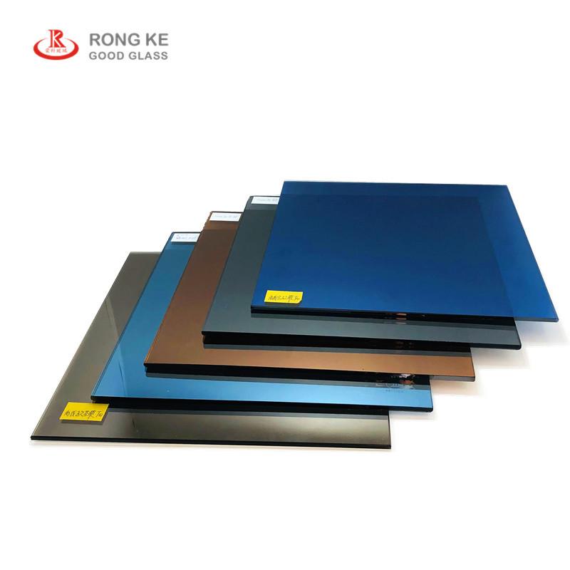 RONGKE thuỷ tinh Qinhuangdao Rongke Glass cung cấp chất lượng cao thủy tinh tráng màu ngoại tuyến