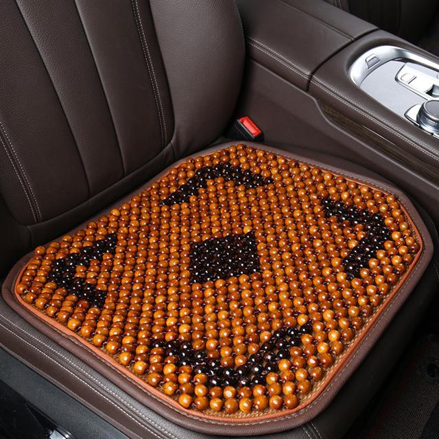 LANDUO - Đệm Lót ghế ô tô hạt gỗ thoáng khí .