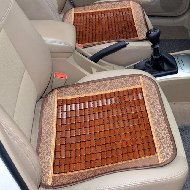 YILUE - Đệm Lót ghế xe hơi kiểu miếng vuông thoáng mát .