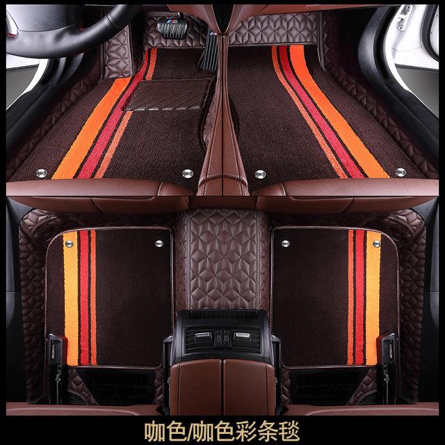 SHENYU Bộ khung khuếch tán khí Thảm lót sàn ô tô 360 túi mềm hàng không lớn bao quanh đầy đủ bao qua