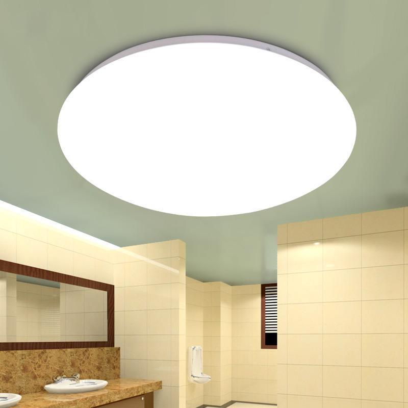 đèn ốp trần Bán buôn đèn trần LED đơn giản đèn phòng ngủ tròn phòng khách đèn ban công lối đi đèn ch